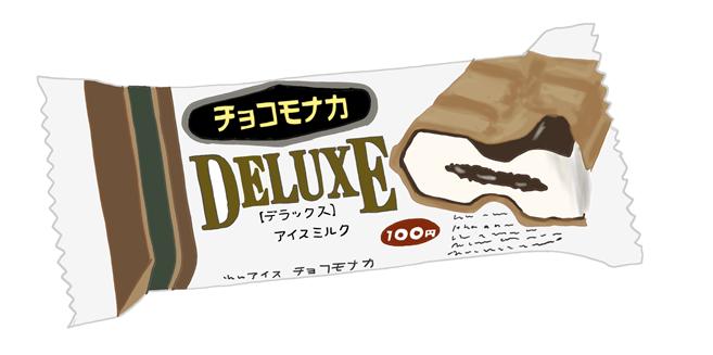 昭和時代 森永チョコモナカデラックス