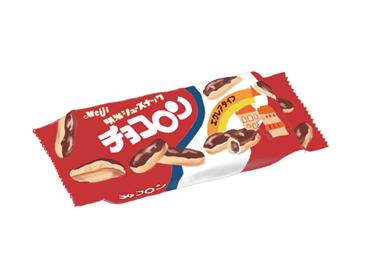 昭和時代の明治チョコロン