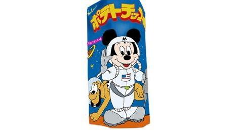 ミッキーマウスポテトチップス・チキンナゲット味