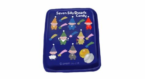 サンリオ セブン シリー ドワーフス(seven silly dwarfs)