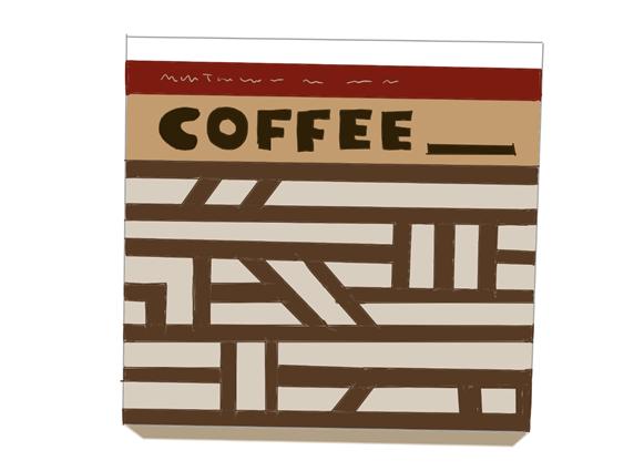 ハイソフト コーヒーキャラメル 昭和時代の製品画像
