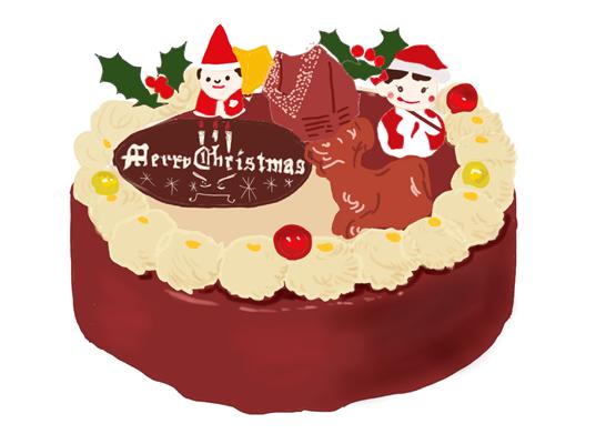 昭和クリスマスケーキ 不二家