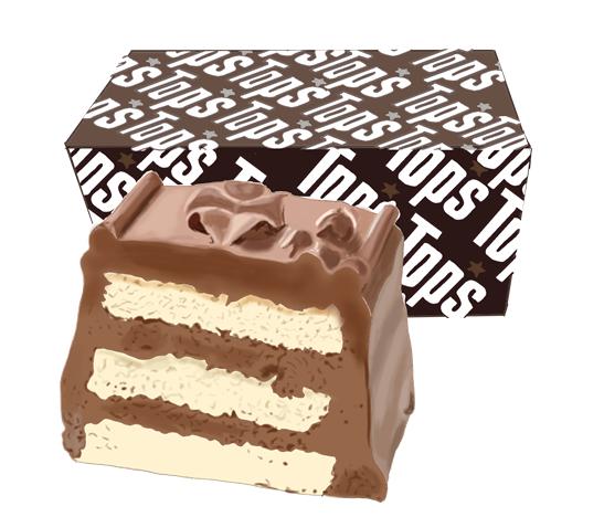 TOPSチョコレートケーキ イラスト画像