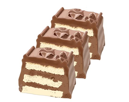トップス チョコレートケーキ くるみとチョコレートの絶妙なハーモニー