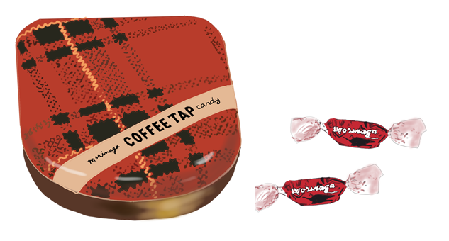 昭和の森永製菓 コーヒータップ キャンディ