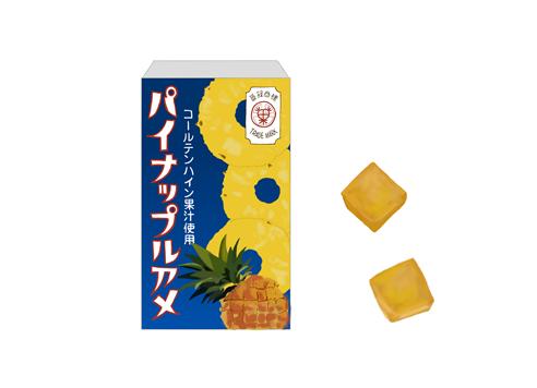 セイカ食品 パイナップルアメ イラスト製品画像