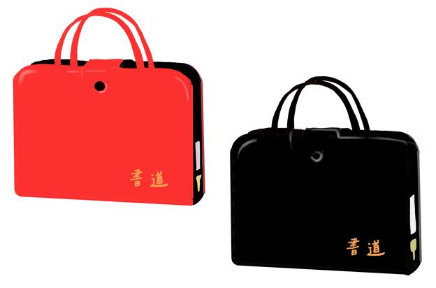 昭和の習字道具バッグ