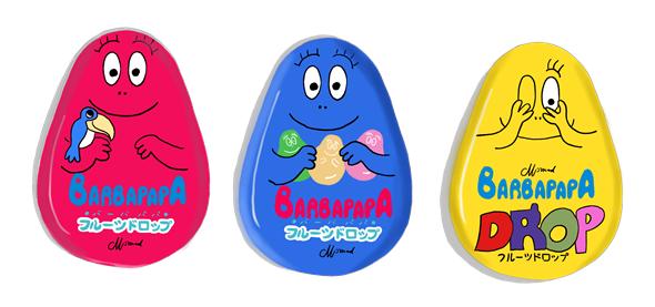 バーバパパ キャンディ缶 20年前の製品画像