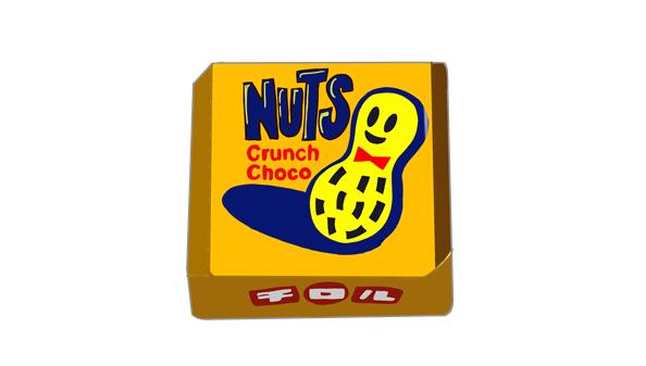 ナッツクランチ チロルチョコ