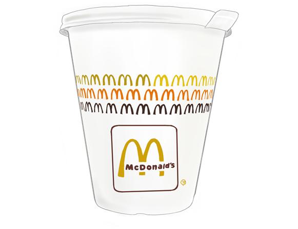マクドナルド 昭和のジュースカップ