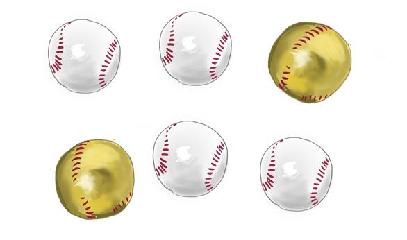 駄菓子 野球ボールチョコレート