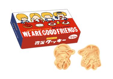 森永製菓 パティー&ジミー クッキー 昭和時代の製品