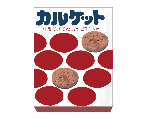 カルケット 昭和時代の製品イラスト画像