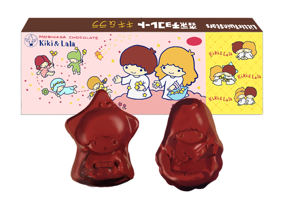 昭和 森永キキララ チョコレート