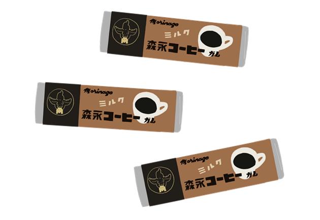 昭和 森永のコーヒーガム