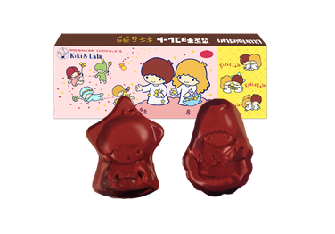 昭和 森永キキララチョコレート