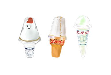 昭和の懐かしいコーンアイス