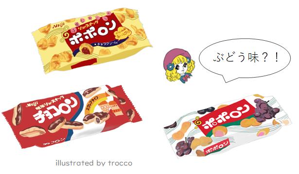 昭和 明治ポポロン、チョコロン