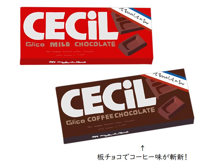 セシルチョコレート 板チョコ