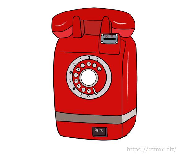 昭和 ダイヤル式の電話