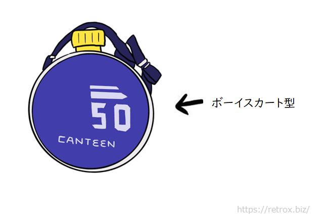 昭和水筒 ボーイスカート