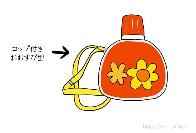 昭和水筒 おむすび型