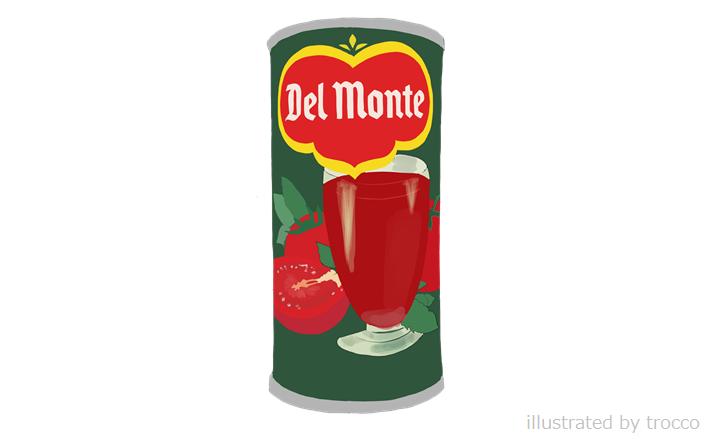 昭和 デルモンテ トマトジュース