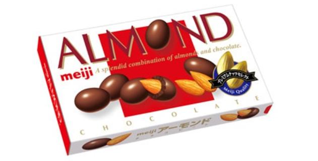明治アーモンドチョコレート2021年