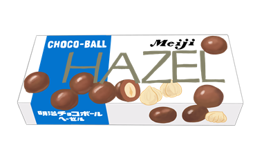 昭和の明治ヘーゼルナッツチョコレート