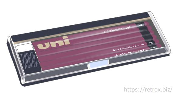 昭和 三菱鉛筆 ユニ ダースケース