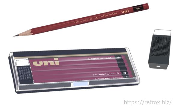 三菱 UNI 鉛筆セット