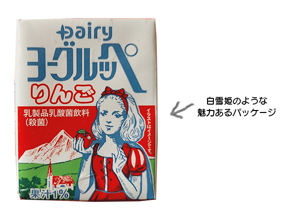ヨーグルッペ りんご味の説明写真