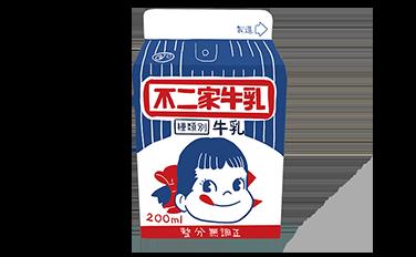 昭和の不二家牛乳