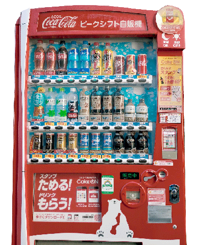 現代の自販機