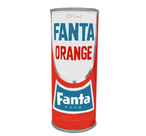 ファンタオレンジ 昭和当時の製品画像