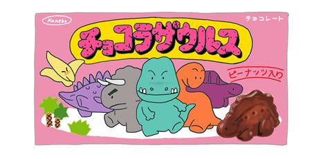 カネボウ チョコザウルス 昭和の懐かしい製品