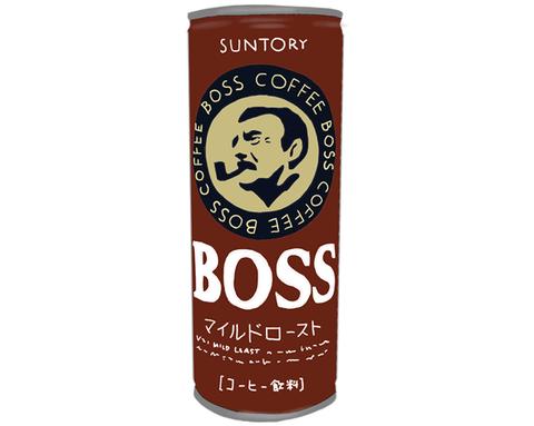 BOSS 缶コーヒー 製品イラスト画像