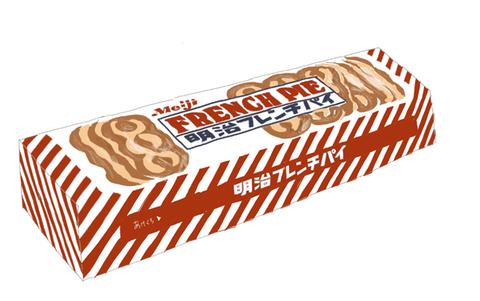 明治 フレンチパイ 昭和の製品画像