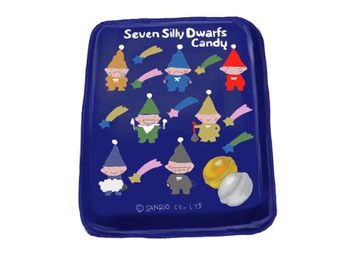 セブン シリー ドワーフス 缶キャンディ