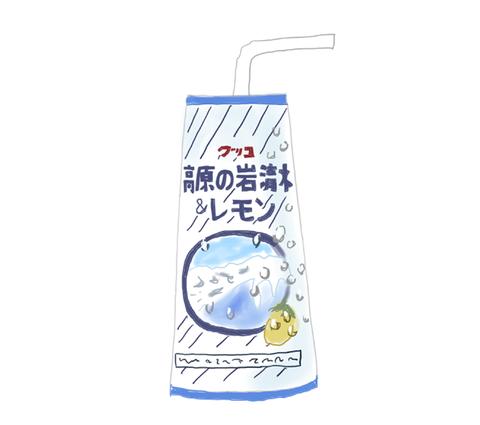グリコ 高原の岩清水&レモン 昭和の製品画像