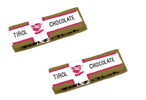 チロル チョコレート 昭和発売当時の製品画像