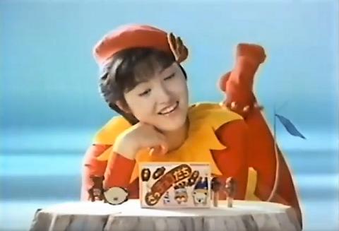 さっチョコだち 荻野目洋子さんのCM