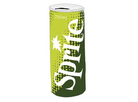 コカ・コーラ スプライト 昭和当時の製品画像