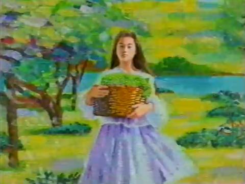 キリン シャッセ 絵画のような美しい広告