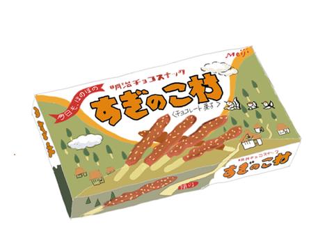 明治製菓 すぎのこ村 昭和の製品画像